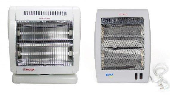So sánh quạt sưởi Nova FG10A và đèn sưởi Rosa RH-04