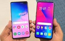 So sánh Samsung Galaxy A80 và Oppo Find X: Kiểu dáng, Cấu hình, Giá cả