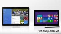 So sánh Samsung Galaxy Note Pro 12.2 và Microsoft Surface Pro 2