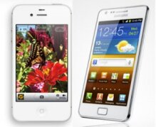 So sánh Samsung Galaxy S2 và iPhone 4