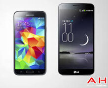 So sánh Samsung Galaxy S5 và LG G Flex ở phân khúc smartphone cao cấp