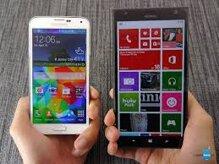 So sánh Samsung Galaxy S5 và Nokia Lumia 1520