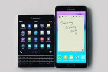 So sánh Samsung Galaxy S6 và BlackBerry Passport
