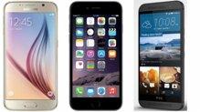 So sánh: Samsung Galaxy S6, iPhone 6 hay HTC One M9 có màn hình đẹp nhất?