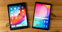 So sánh Samsung Galaxy Tab A 10.1 2019 và iPad 2018