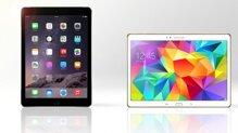 So sánh Samsung Galaxy Tab 10.5 và iPad Air 2: đối thủ xứng tầm