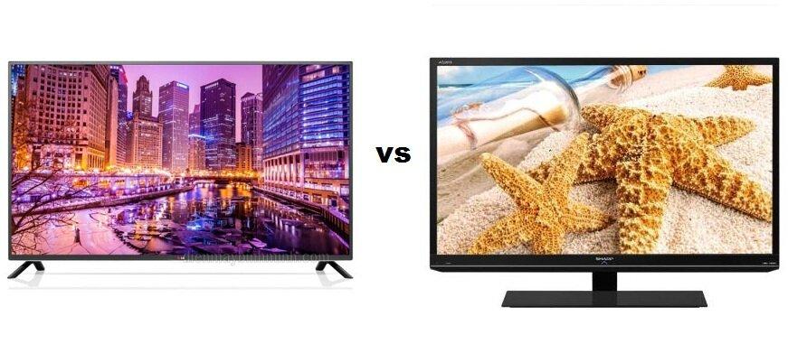 So sánh Smart Tivi LED LG 32LB582 và Tivi LED Sharp LC-32LE155D2