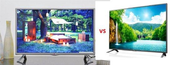 So sánh Smart Tivi LED LG 32LB582 và Tivi LED LG 39LB561T