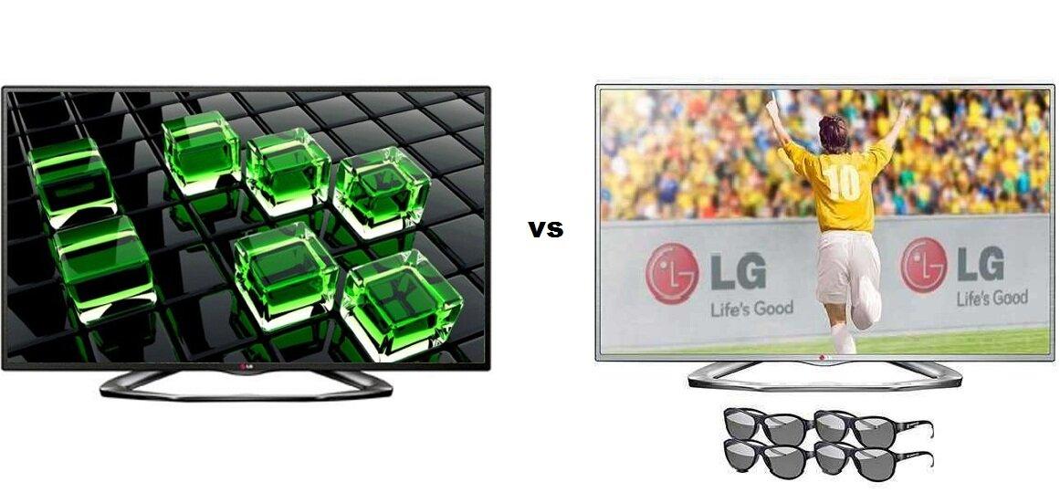 So sánh Smart Tivi LED LG 42LN6130 và Tivi LED 3D LG 42LA6130