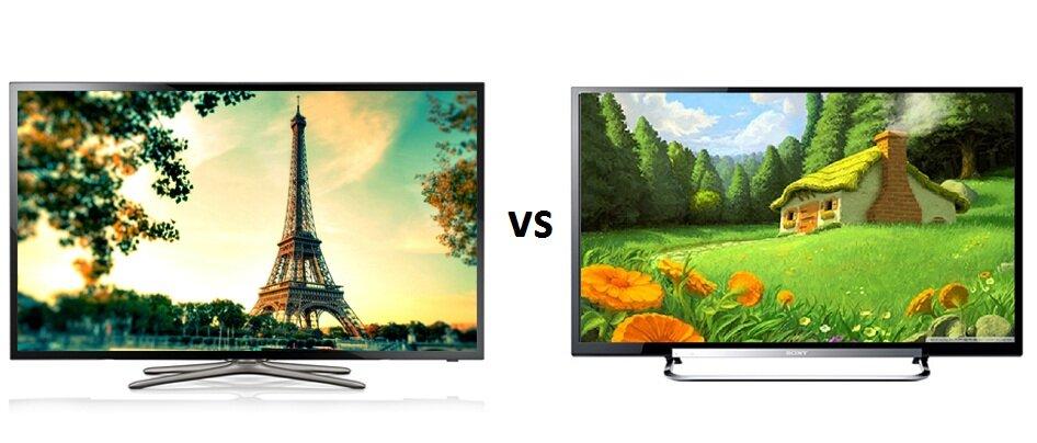 So sánh Smart Tivi LED Samsung UA40F5501 và Sony KDL32W674A