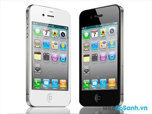 So sánh smartphone Apple iPhone 4 và HTC Desire 610