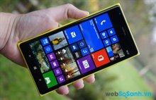 So sánh smartphone Lenovo Vibe Z2 Pro K920 và Nokia Lumia 1520