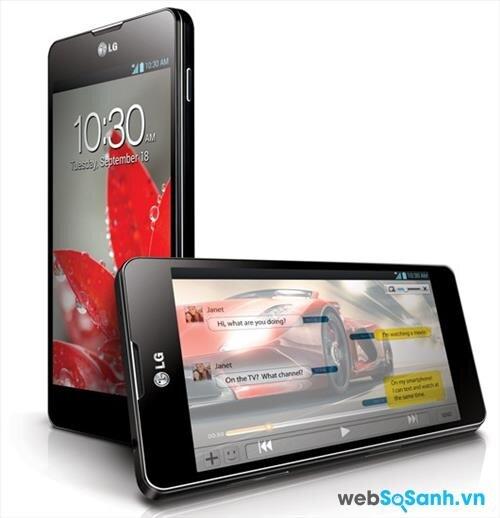 So sánh smartphone LG Optimus G E975 và Galaxy Note 3 SM-N9000