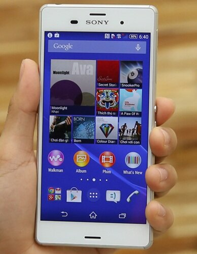 So sánh smartphone Sony Xperia Z3 và LG G3