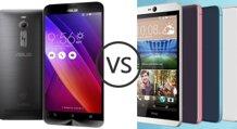 So sánh smartphone tầm trung HTC Desire 826 và Asus Zenfone 2