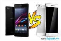 So sánh smartphone tầm trung Oppo R5 và Sony Xperia Z2