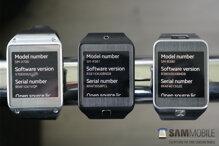 So sánh smartwatch Samsung Galaxy Gear, Gear Neo và Samsung Gear