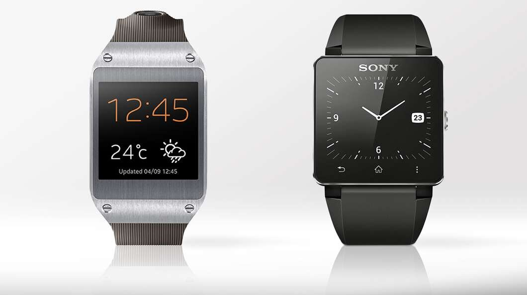 So sánh SmartWatch Samsung Galaxy Gear và Sony SmartWatch 2