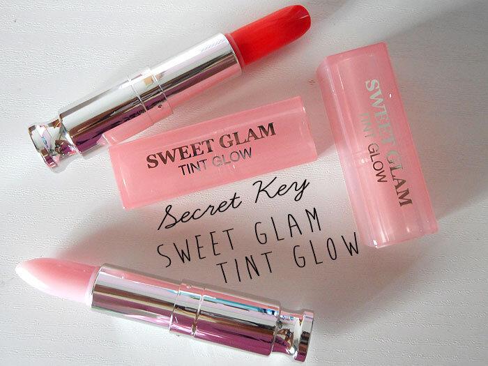 So sánh son dưỡng môi Canmake Stay on Balm Rouge và Secret Kiss Sweet Glam Tint Glow