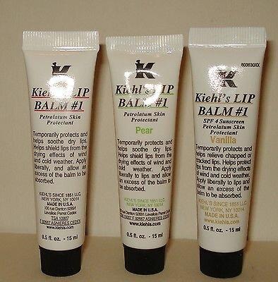 So sánh son dưỡng môi Kiehl's Lip Balm và Carmex lip balm stick