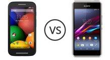 So sánh Sony Xperia E1 và Moto E: smartphone tầm trung nào đỉnh hơn?