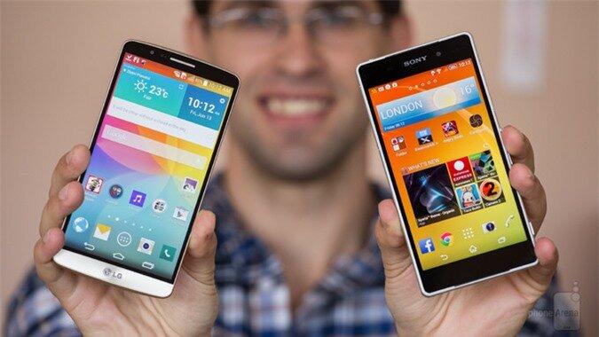 So sánh Sony Xperia Z3 và LG G3: Kẻ tám lạng, người nửa cân
