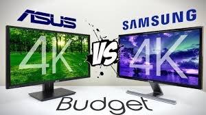 So sánh sự khác biệt của màn hình 4K Samsung U28D590D và Asus PB287Q