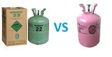 So sánh sự khác biệt giữa gas điều hòa R22 và R410A