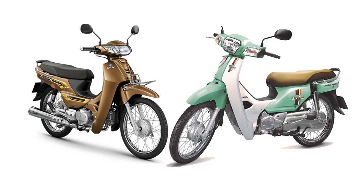 So sánh sự khác biệt giữa xe máy 2019 Honda Dream 125 với thế hệ Dream 110 cũ