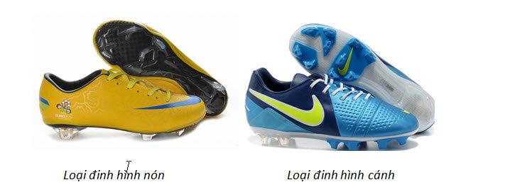 So sánh sự khác nhau giữa giầy bóng đá đế AG, FG, TF…