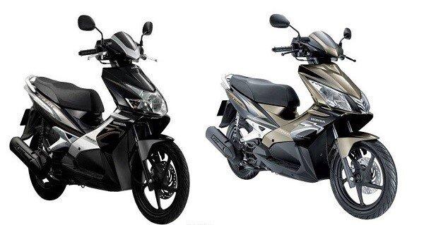 So sánh sự khác nhau giữa xe máy Honda Air Blade Thái và Việt