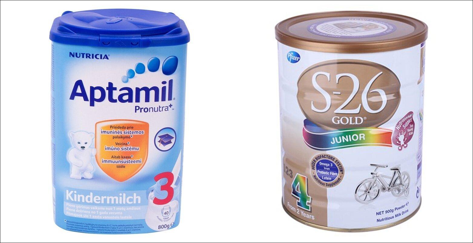 So sánh sữa bột Aptamil và S26: sữa nào giúp bé phát triển tốt hơn?