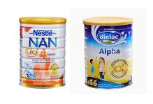 So sánh sữa bột Dielac Alpha 456 HT với  Nestlé NAN Kid 4 – Bổ sung dưỡng chất hoàn hảo cho bé