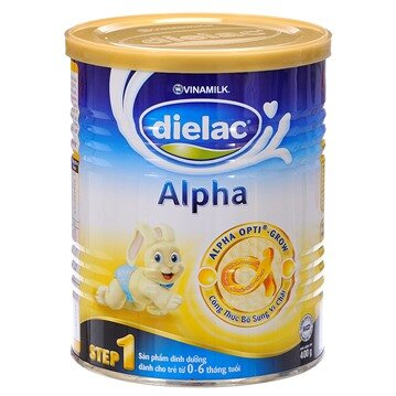 So sánh sữa bột Dielac Alpha và sữa bột Frisolac