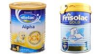 So sánh sữa bột Dielac Alpha Step 1 và Frisolac Gold 1 cho bé từ 0 đến 6 tháng tuổi