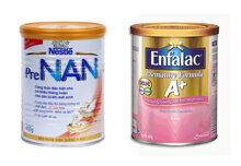 So sánh sữa bột Enfalac A+ Premature Formula với Pre Nan – Dành cho bé thiếu tháng nhẹ cân