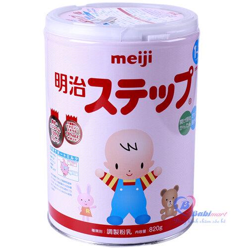 So sánh sữa bột Meiji và sữa bột Dielac Alpha