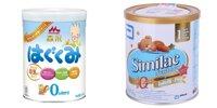So sánh sữa bột Morinaga số 0 và Abbott Similac Newborn IQ 1 cho bé từ 0 đến 6 tháng tuổi