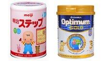 So sánh sữa bột Vinamilk Optimum Gold và sữa bột Meiji – Sữa Việt hay sữa Nhật?