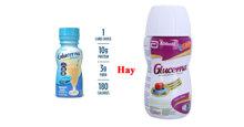 So sánh sữa Glucerna nước của Mỹ và Việt Nam : Loại nào ngon và tốt hơn ?