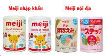 So sánh sữa Meiji nhập khẩu và sữa Meiji nội địa có gì khác nhau ?