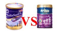 So sánh sữa Pediasure và sữa Friso Gold Pedia : Sữa nào sẽ tốt hơn cho trẻ biếng ăn Việt Nam ?