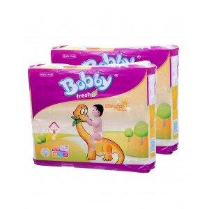 So sánh tã giấy Bobby Fresh XL42 Jumbo với GOON Jumbo NB