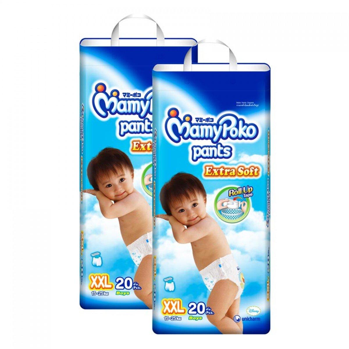 So sánh tã quần Huggies Dry Pants M10 với MamyPoko XL24