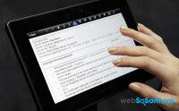 So sánh tablet màn hình 7 inch BlackBerry PlayBook và HP Stale 7