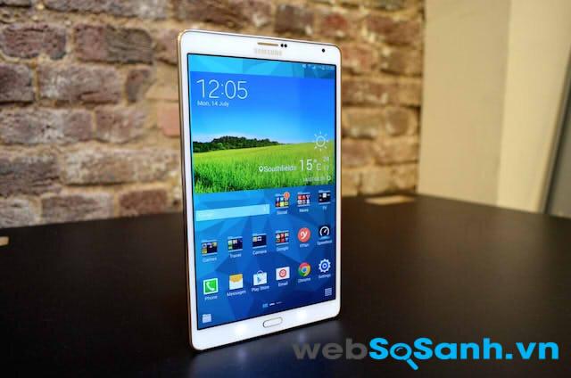 So sánh tablet Samsung Galaxy Note 8.0, Tab S 8.4 và Tab Pro 8.4
