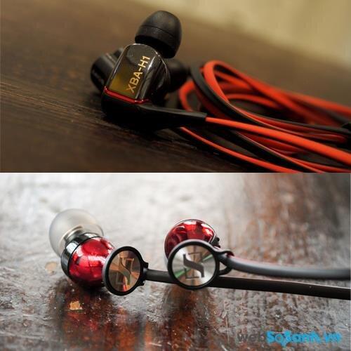 So sánh tai nghe Sony XBA-H1 và Sennheiser Momentum In-Ear: tai nghe in-ear tốt nhất hiện nay