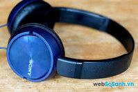 So sánh tai nghe Sony MDR-ZX310 và Sennheiser HD 202 II