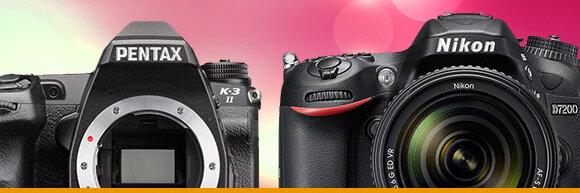 So sánh thông số kỹ thuật máy ảnh Nikon D7200 và Pentax K-3 II