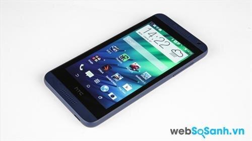 So sánh thông số kỹ thuật smartphone HTC Desire 610 và Desire 616